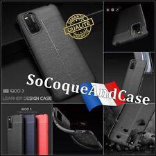 Etui Coque Housse Silicone SHOCKPROOF TPU Litchi Skin Case Vivo iQOO 3 (5G)