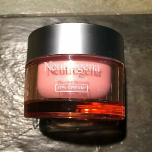 NEW Neutrogena Bright Boost Brightening Gel Cream Moisturizing Face Cream Pink