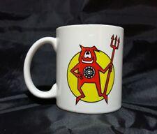 Reproduction Vintage Ski Doo Devil Snowmobile Logo Coffee Mug