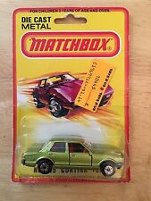 New On Card 1980 Matchbox #55 Cortina 1600 Blister Pack
