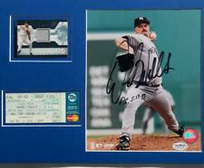 DAVID WELLS Signed 11x14 Matted 8x10 Photo, Perfect Game Ticket  JSA Sticker