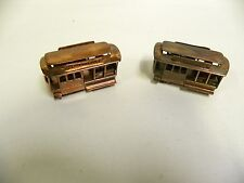 """2"" Vtg Powell & Mason St. 519 San Francisco Trolley Souvenir Paper Weight (A4)"