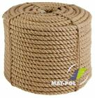 """100% Natural Jute Hessian Rope Cord Braided Twisted Boating Sash Garden Decking <br/> HIGH QUALITY IS SMOOTH NOT """"HAIRY"""" HAS NICE DENS BRAID"""