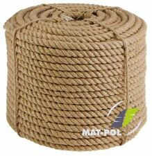 More details for 100% natural jute hessian rope cord braided twisted boating sash garden decking