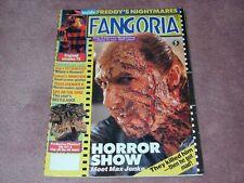 FANGORIA # 81 - Horror Show, Freddy's Nightmares, FREE SHIPPING in USA