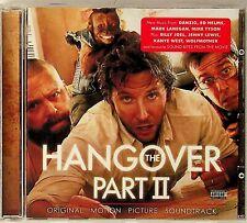 The Hangover Part 2 II- Film Soundtrack CD (2011) Wolfmother/Danzig/Mark Lanegan