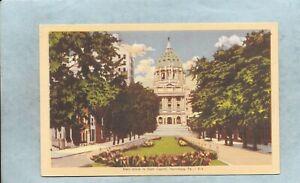 State Street, State Capitol, Harrisburg, Pennsylvania*L