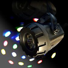 LED Mini FE-10 Flower multicolor 1x10W weiß Soundcontrol DJ Disco Party Event