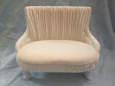 "16"" Princess Love Seat Ivory Horsman 16"" Doll Furniture Urban Vita Environment"
