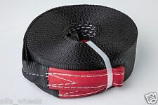 """2"""" 4 TON Tow Strap 60ft winch sling off-road ATV UTV snatch vehicle recovery"""