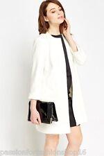 David Emanuel Size 12 14 16 18 20 22 24 Ivory Tailored Formal Dress Coat Jacket UK 12