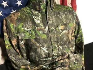 NWT new MOSSY OAK Obsession NWTF HUNTING GUIDE Vented Long Sleeve SHIRT Mens XL