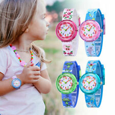 Kids Cartoon Unicorn Wrist Watch Boys Girls Children Kids Animal Silicone Watch