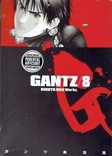 Gantz: v. 8 by Hiroya Oku 2010 Dark Horse Manga English