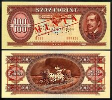 HUNGARY 100 FORINT 1989 SPECIMEN P171s5 UNCIRCULATED