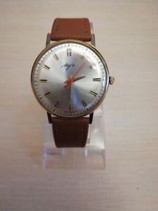 Vintage Luch Soviet Ultra Slim Wristwatch Mechanical 2209 watch Good condition