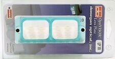 "Donegan LP-10 OptiVisor® Glass Lens Plate, 3.5X Magnification at 4"" Focal Length"