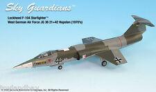 Sky Guardians Lockheed F-104 West German Hopsten AF JG 36 1:72 Scale RETIRED