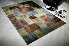 Art Deco Modern Contemporary Multi Colour Abstract Modern Rug Runner S-XL 30%OFF