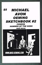 Michael Avon Oeming Sketchbook # 2 Powers, Hammer of the Gods In Wrappers