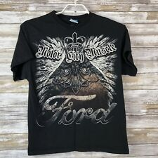 Ford Mens T-Shirt Sz M Short Sleeve Black Ford Motor City Muscle