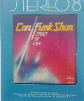"Con Funk Shun ""Spirit Of Love"" 8 Track (sealed)"