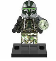 Kashyyk Clone Trooper Commander Gree Star Wars Minifigure Fits Lego US SELLER