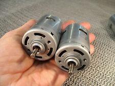 1 DC Motor für 6 - 12 V, Kugellager und Sinterlager, 5 mm Welle, über 200 Watt