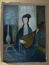 Excellent Chinese Scroll Painting  By Lin Fengmian P148 林风眠