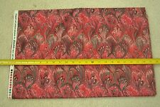 "By-the-Half-Yard, 44"", Red, Green & Burgundy Quilter's Cotton, JoAnn, M6709"