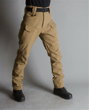 Men Fishing Hiking Pants Soldier Tactical Waterproof Windproof Warm Trousers