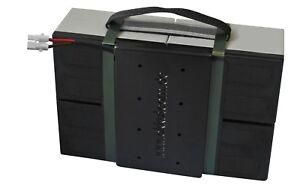 Batterieblock für MZ Elektroroller Charly 2 (II) | Weißer Stecker