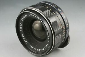 RARE Asahi OPT Super Takumar 35mm f/3.5 Pentax M M42 Mount Early version #18