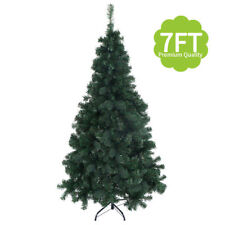 7Ft Artificial PVC Christmas Tree W/Stand Holiday Season Indoor Outdoor Green