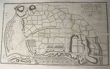 Map Plan of ARKLOW TOWN 1798 Irish Rebellion Wicklow Ireland 1801 Musgrave 11x18