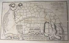 Map Plan of ARKLOW TOWN 1798 Irish Rebellion Wicklow Ireland 1801 Musgrave 11x18