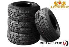 4 X New Lionhart LH-HTS P245/70R16 107H All Seasons High Performance Tire