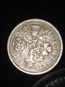 RARE 6P Six Pence Coin 1963