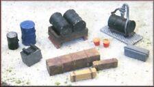 Knightwing B24 Loco Shed / Engineering Yard Maintenance Pack 1 OO Gauge