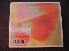 CD DIGIPACK import Japon BILL EVANS SOLO - WALTZ FOR DEBBY /  neuf & scellé