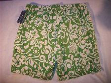 CARIBBEAN JOE TRUNKS SHORTS MENS Green SWIM SUIT SIZE LARGE L NEW $48