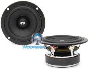 "CDT AUDIO ES-03 GOLD SERIES 3"" WIDE RANGE CAR AUDIO MIDRANGE DRIVERS PAIR NEW"