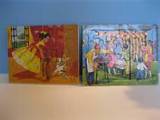 Vintage 1954 Sifo Co Tray Puzzels, Camping Goose, 1950s Children Nice Lot Of 2