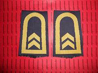 Bundeswehr Schulterklappen Marine Oberbootsmann gelb blau NEU