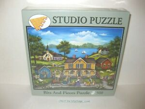 Bits And Pieces Bonnie White: New Arrivals 500 Studio Puzzle - NEW, SEALED NIB