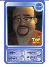 CARTE COLLECTOR DISNEY PIXAR AUCHAN 2010 NUMERO 85 AL TOY STORY 3