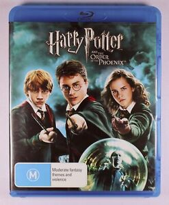 Harry Potter and the Order Of The Phoenix Blu Ray