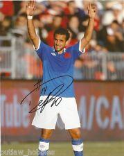 Team Canada Dwayne De Rosario Autographed Signed 8x10 Photo COA