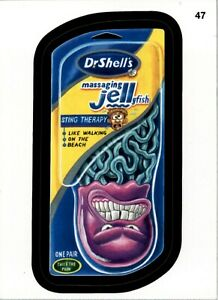 wacky   packages   9th Series 2012 (ANS9)#  47  Dr. Shell's Massaging Jellyfish
