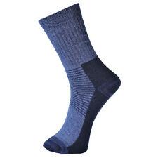 Calcetines de hombre azules, talla 43